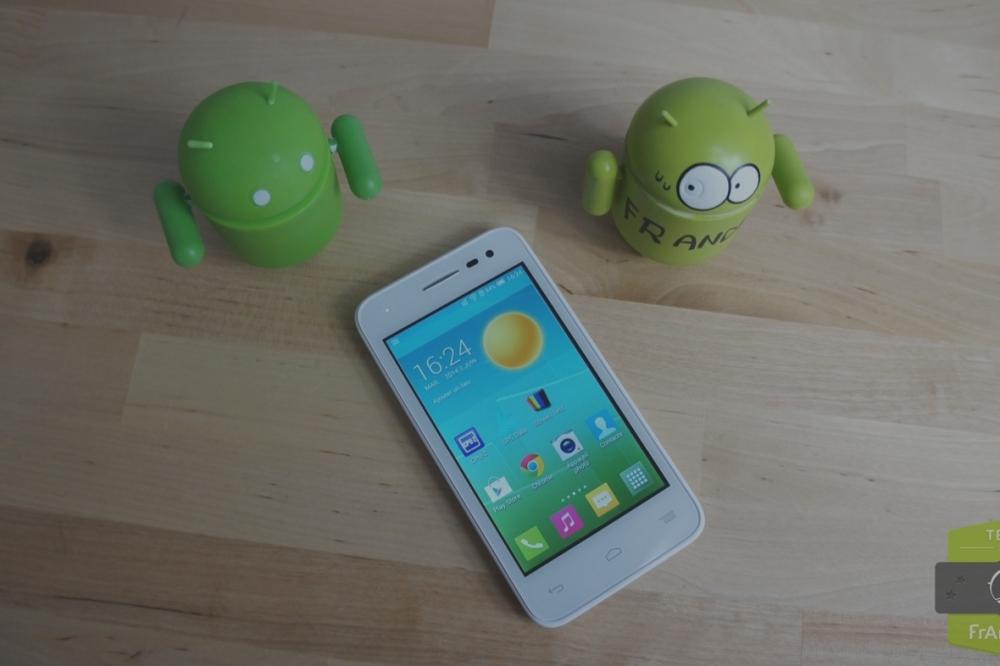 Test de l'Alcatel One Touch Pop S3