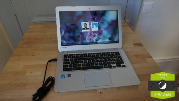 Test du Chromebook Toshiba 13,3″ (CB30-102)