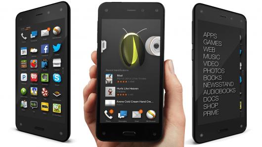 Amazon : pour le Fire Phone, «nous étions à côté»