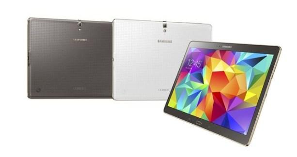 Samsung annonce les Galaxy Tab S 8.4 et 10.5 avec des écrans Super AMOLED