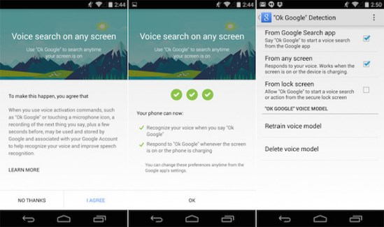La commande vocale «Ok Google» arrive sur toutes les pages du smartphone (aux USA)