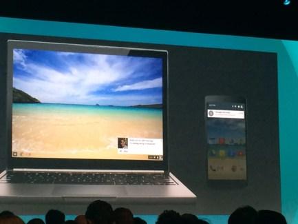 Chromebook et Android, le mariage arrangé avec les notifications et les apps