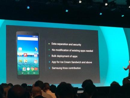 Avec Knox, la sécurité à l'honneur dans Android L avec la «contribution» de Samsung