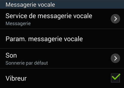 Comment paramétrer la messagerie vocale sur Android ?