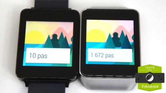 Test de la LG G Watch, que vaut-elle par rapport à la Samsung Gear Live ?