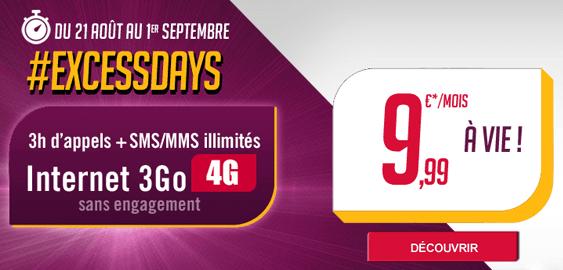 Virgin Mobile : le retour de la revanche du forfait à 3 heures + 3 Go à 10 euros