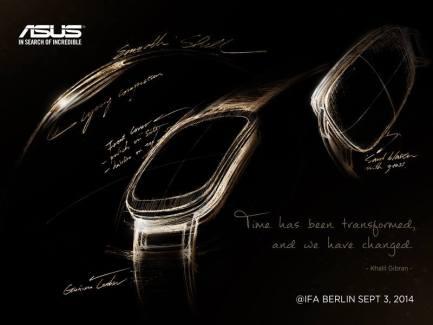 Asus continue de teaser sa montre connectée et précise son design