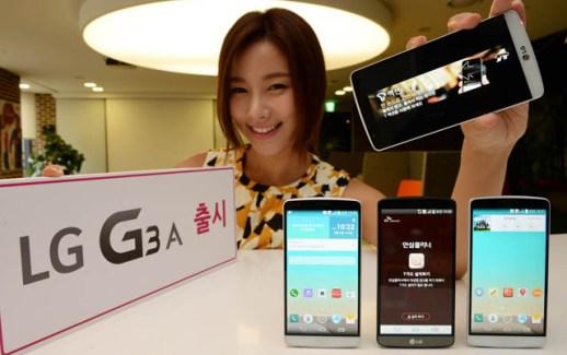 Le LG G3 A officialisé : un G2 dans une coque de G3