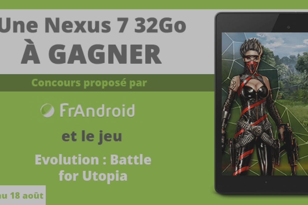 Concours : remportez une Nexus 7 32 Go !