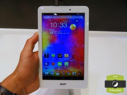 Prise en main des nouvelles tablettes Iconia One 7, Iconia One 8 et Iconia Tab 10 d'Acer