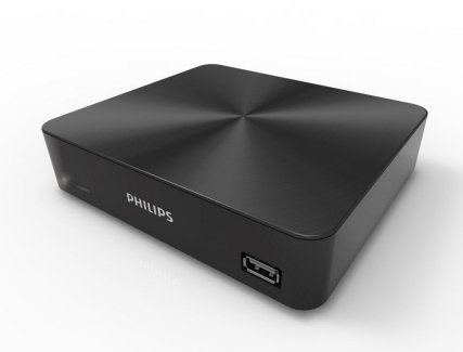 Philips UHD 880, un Media Player… sous Android L