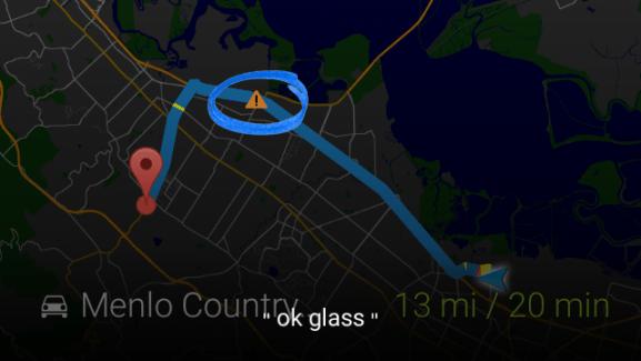 Les Google Glass passent par Waze pour vous prévenir des perturbations du trafic
