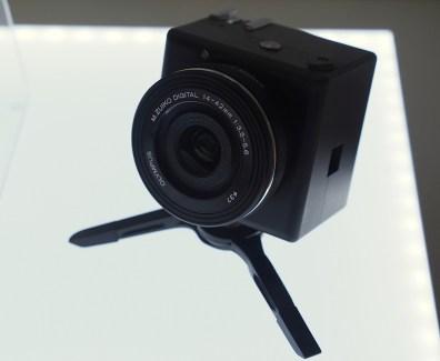 Olympus prépare un module photo connecté au smartphone, l'Open Platform