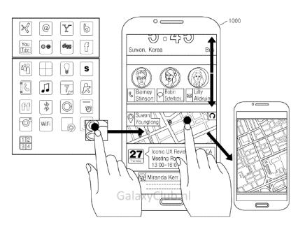 Iconic UX : un brevet en dit plus sur la future interface Android de Samsung