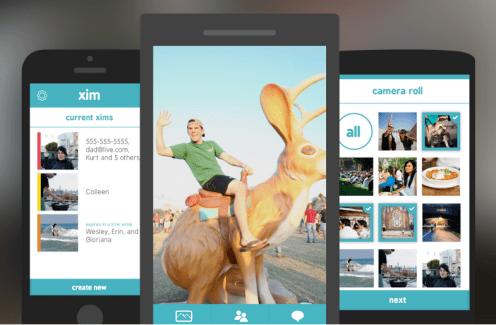 Xim : Microsoft lance une application universelle de partage de photos