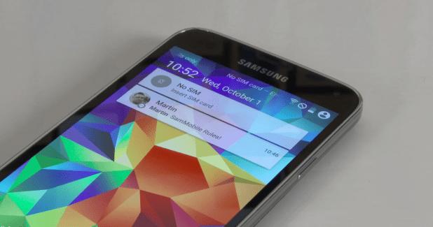 Samsung Galaxy S5 : tout ce qu'il faut savoir
