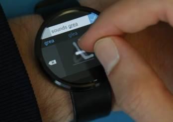 Analog Keyboard : un clavier virtuel pour Android Wear développé par Microsoft