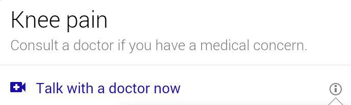 Google teste actuellement les diagnostics médicaux en ligne