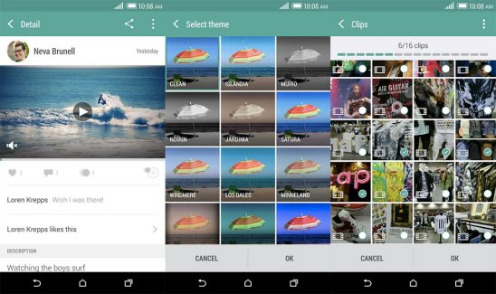 HTC ouvre son application Zoe à tous, et pas seulement sur Android