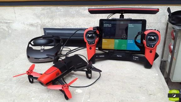 Prise en main du Parrot Bebop Drone, le drone sous Android compatible avec la réalité virtuelle