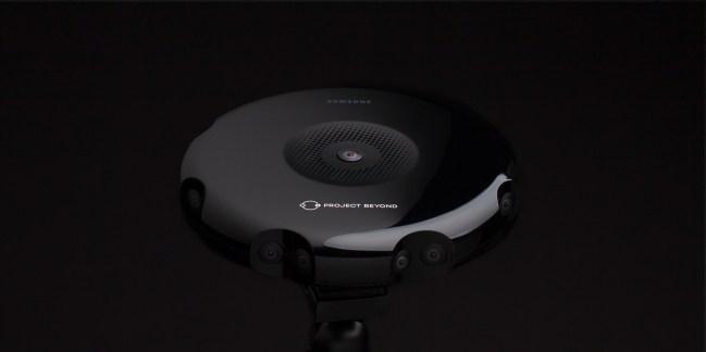 Project Beyond : une caméra 3D à 360° pour une réalité encore plus virtuelle sur le Gear VR