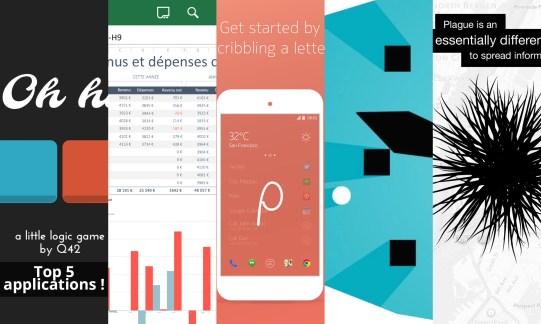 Les apps de la semaine : Z Launcher Beta, Microsoft Office Mobile, 0h h1, Phases et Plague - The Network