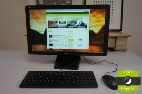 Test du LG Chromebase, le moniteur connecté et flexible