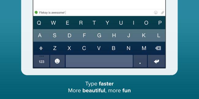 Fleksy, le clavier « le plus rapide du monde » baisse son prix de moitié