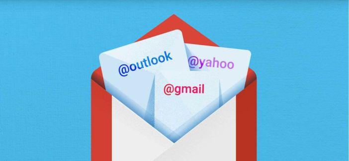 Gmail permet maintenant de voir tous ses emails, quel que soit le compte, depuis la page principale