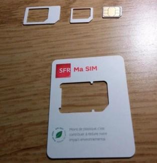 Bouygues Telecom, Orange et SFR fournissent désormais des cartes SIM à triple découpe