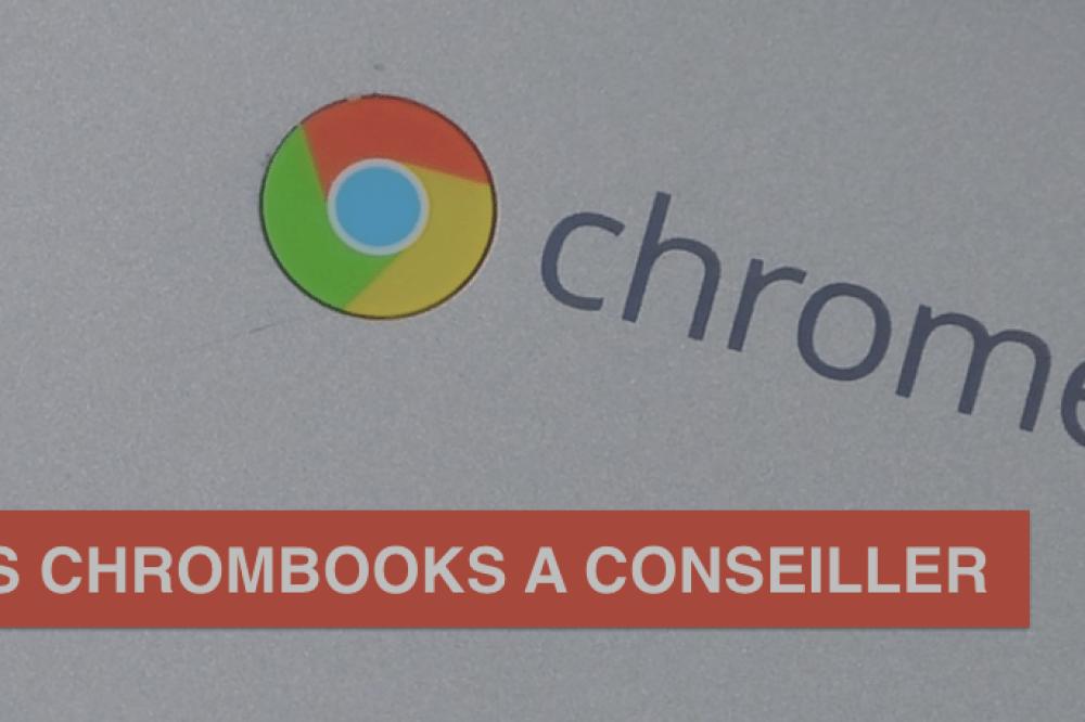 Les Chromebooks que nous vous conseillons