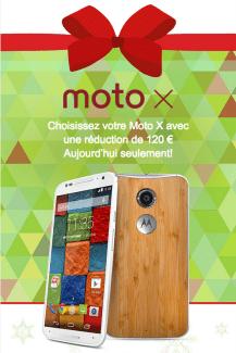 Bon plan : le Moto X 2014 à 419 euros pour le Cyber Monday