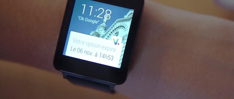 L'application Voyages-SNCF.com est désormais compatible avec Android Wear