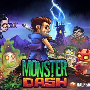 Monster Dash vous entraîne à la chasse aux morts-vivants