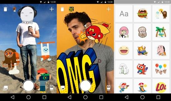 Stickered for Messenger, l'app de Facebook pour décorer ses photographies