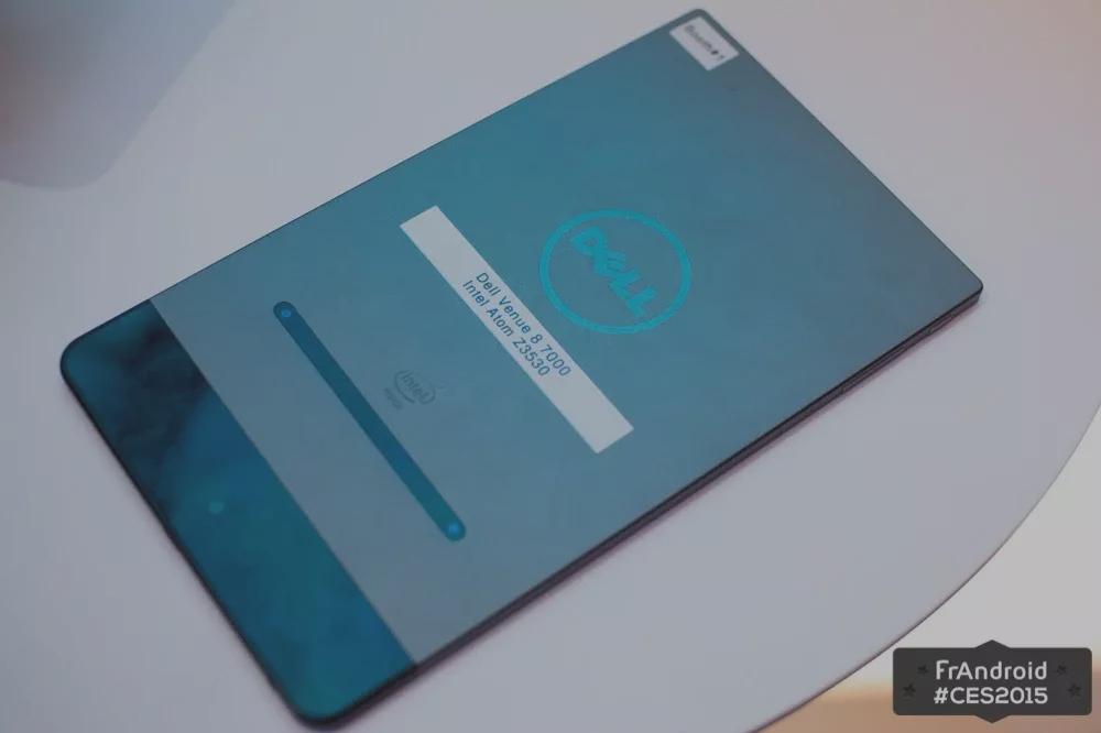 Prise en main de la Dell Venue 8 7000 avec ses fonctionnalités photos évoluées