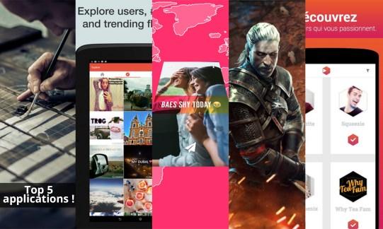 Les apps de la semaine : Behance, Flipagram, Fling, The Witcher Battle Arena et Vidclust