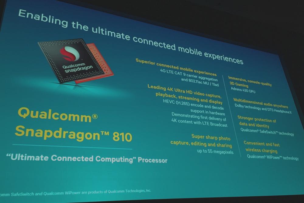 Qualcomm lance le Snapdragon 810, dément tout retard et parle d'objets connectés