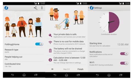 Folding@Home est maintenant disponible pour certains smartphone de Sony