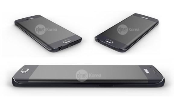 Samsung Galaxy S6 Edge : des rendus 3D pour «se rendre compte»