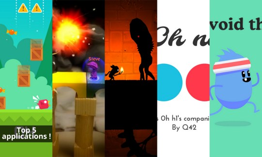 Les apps de la semaine spécial jeux : Run Bird Run, BombSquad, Oscura: Second Shadow, 0h n0 et Dumb Ways to Die 2: The Games