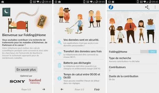 Sony étend la compatibilité de Folding@Home à de nouveaux smartphones