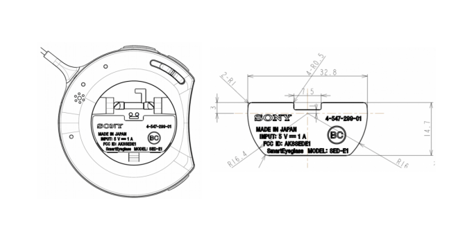 Les Sony SmartEyeGlass obtiennent leur certification et de premières applications
