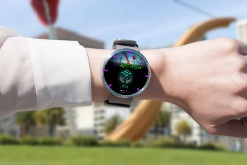 Ingress présente son application sous Android Wear, pour hacker des portails à la force du poignet