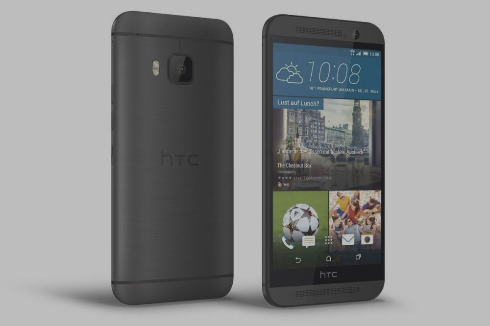 HTC One M9 : photos, prix et caractéristiques libérés dans la nature