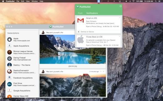 Pushbullet est désormais disponible sur Mac et Safari