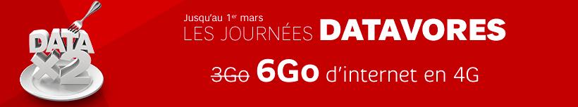 SFR RED double la data sur ses forfaits jusqu'au 1er mars