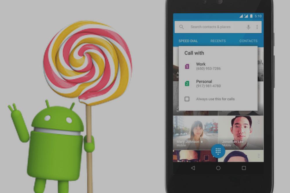 Android 5.1 est officialisé avec le support multi-SIM