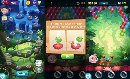 Angry Birds Stella Pop : un Bubble Witch à la sauce Rovio