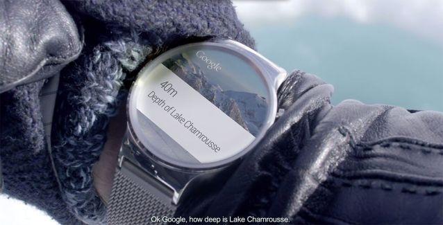 Android Wear serait prêt à permettre de passer des appels depuis une montre
